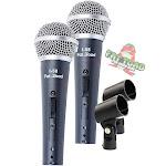 Cardioid Dynamic Vocal Microphones - Singing Handheld Recording Studio Mic PACK