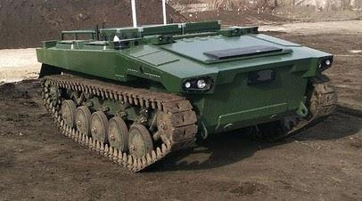 В России провели испытания боевого робота«Маркер»