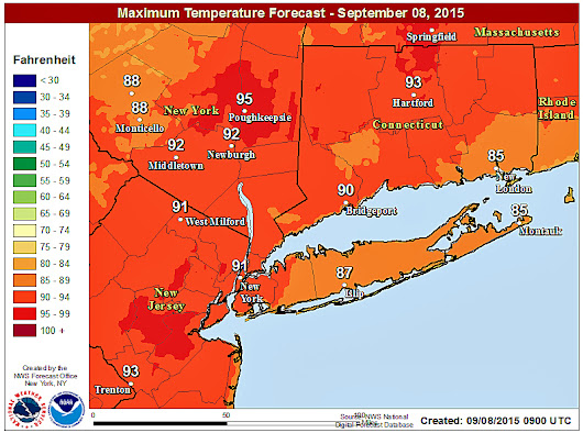 Tuesday temps to hit 90 or above; some schools closing early
