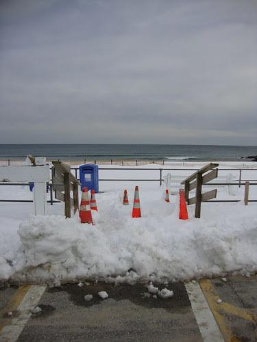 welcome to the boardwalk  in Sea Girt, NJ 2/13/2010