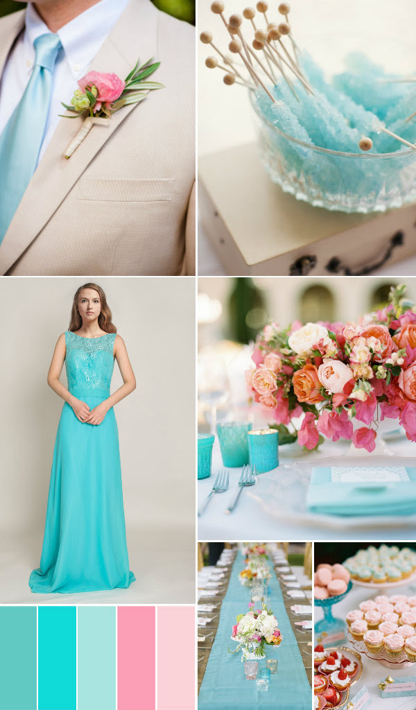 Top 5 Wedding Color Ideas In Shades Of Blue And Green ...