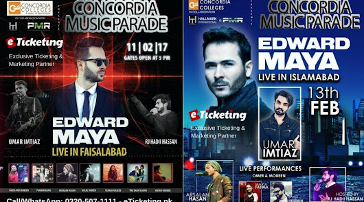 THE STYLE EDWARD MAYA ENTERED INTO MUSIC | eTicketing.pk | e-Tickets for Concerts, Theatre, Sports and Entertainment events in Pakistan