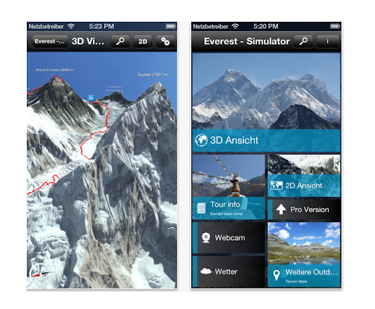 Tour Highest Peak with Mount Everest 3D App - TechBeat