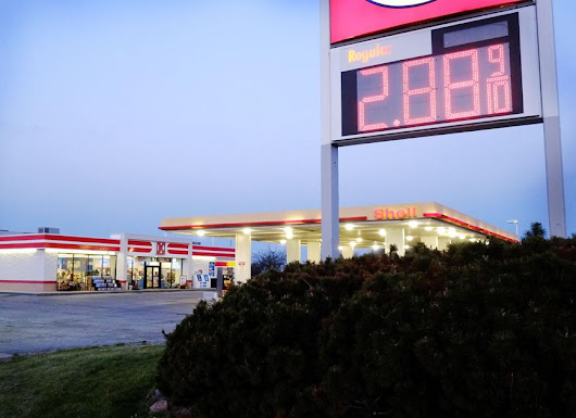 Gas prices rising as summer approaches