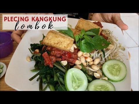 Plecing Kangkung Khas Lombok Terasinya Bikin Nagih
