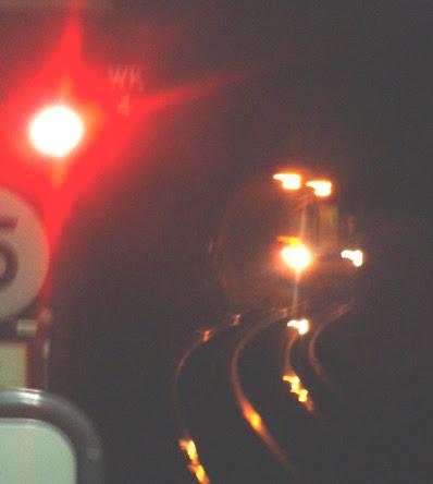 Waterloo & City Line train approaching