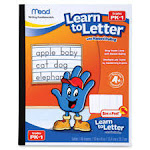 Mead MEA48122 Learn to Letter Writing Book