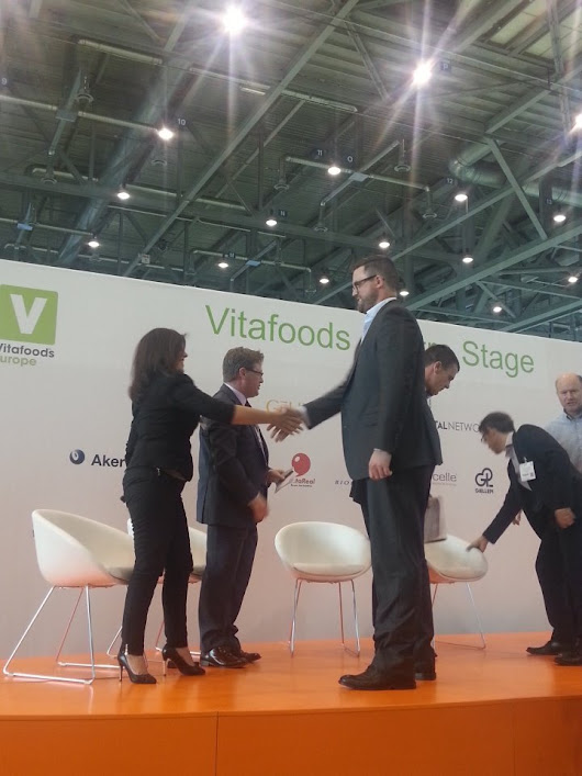 "Vitafoods Europe on Twitter: ""The winner of the @nutrcapnetwork venture den and €75'000 is ... @MazzaInnovation !!! """