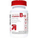 Vitamin B12 Quick Dissolve Tablets - Cherry Flavor - 60ct - Up&Up , Adult Unisex, Size: 60 count
