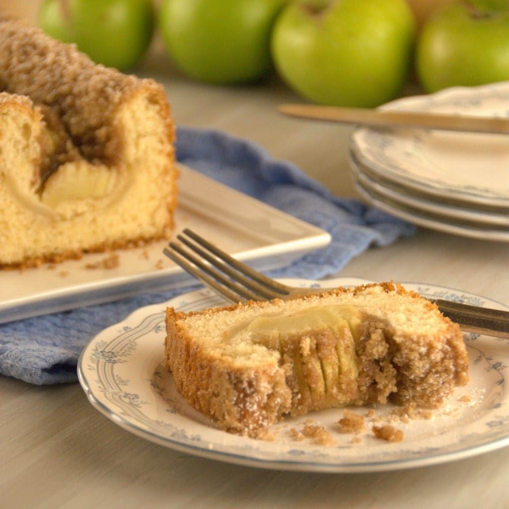 Apple Kuchen 10 1024x1024 Apfelkuchen ( Bavarian Apple Cake) for #TwelveLoaves