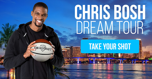 Enter to Win a Tip to Miami, Courtside Seats at NBA Game, and Shootaround with Chris Bosh