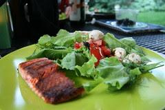 garden lettuce for dinner