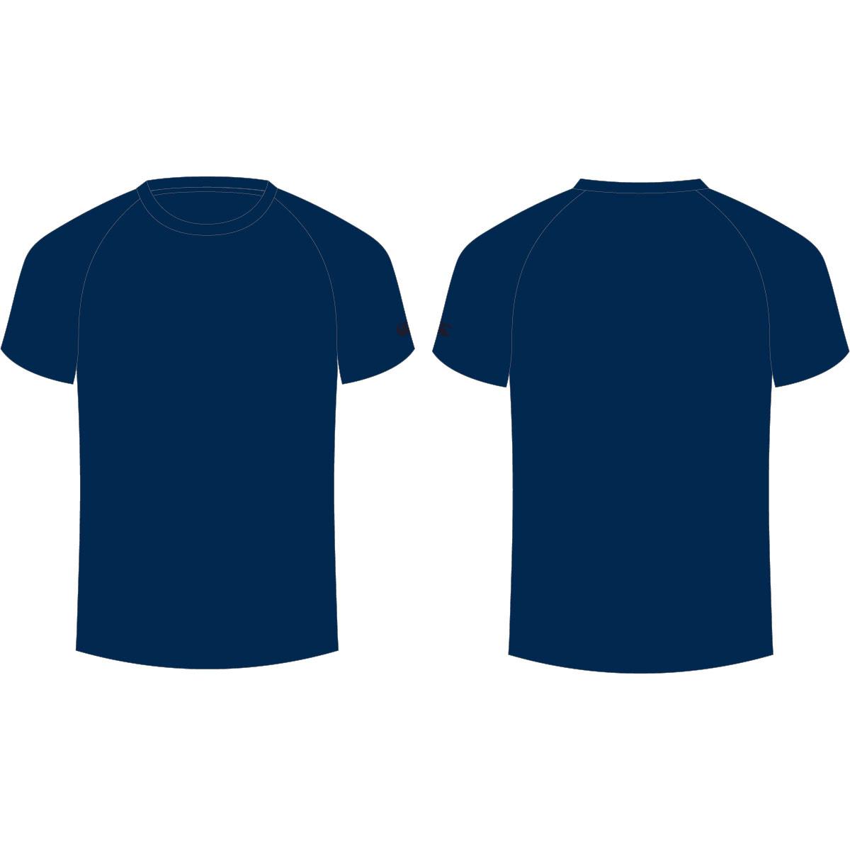Desain Kaos Polos Warna Biru Navy Rajasthan Board F