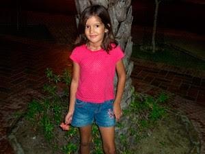 Samara Vicente Portes, de 8 anos (Foto: Josué Borges Portes)