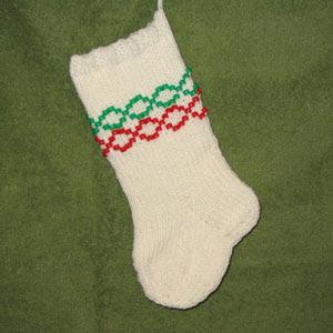Beaded Christmas Stocking