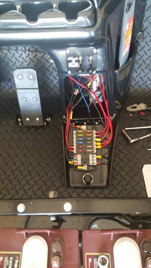 1997 EZGO TXT Ground up build with Air Ride - Page 3