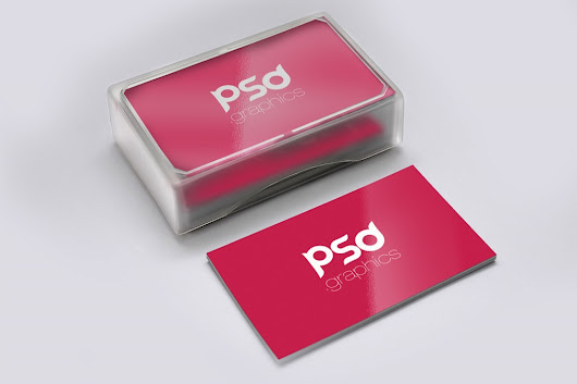 Business Card Mockup Free PSD Graphics | PSD Graphics