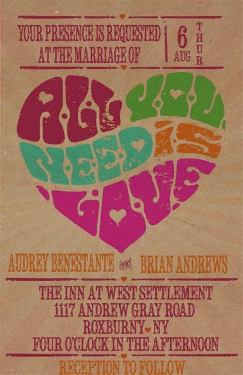 Custom Retro Wedding Invitations with RSVP   Retro Poster