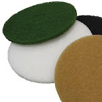 """13"""" WHT Thick Nyl Pad -PACK 5"""
