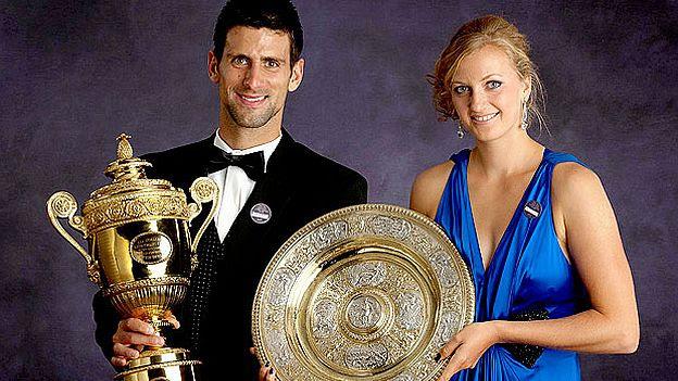 Djokovic y Kvitova