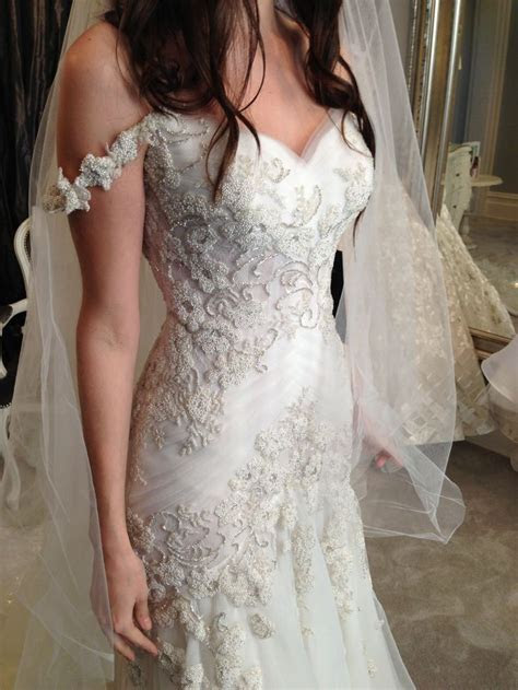 Steven Khalil, Nice #Wedding Dress, #Bridal Dress #Pretty