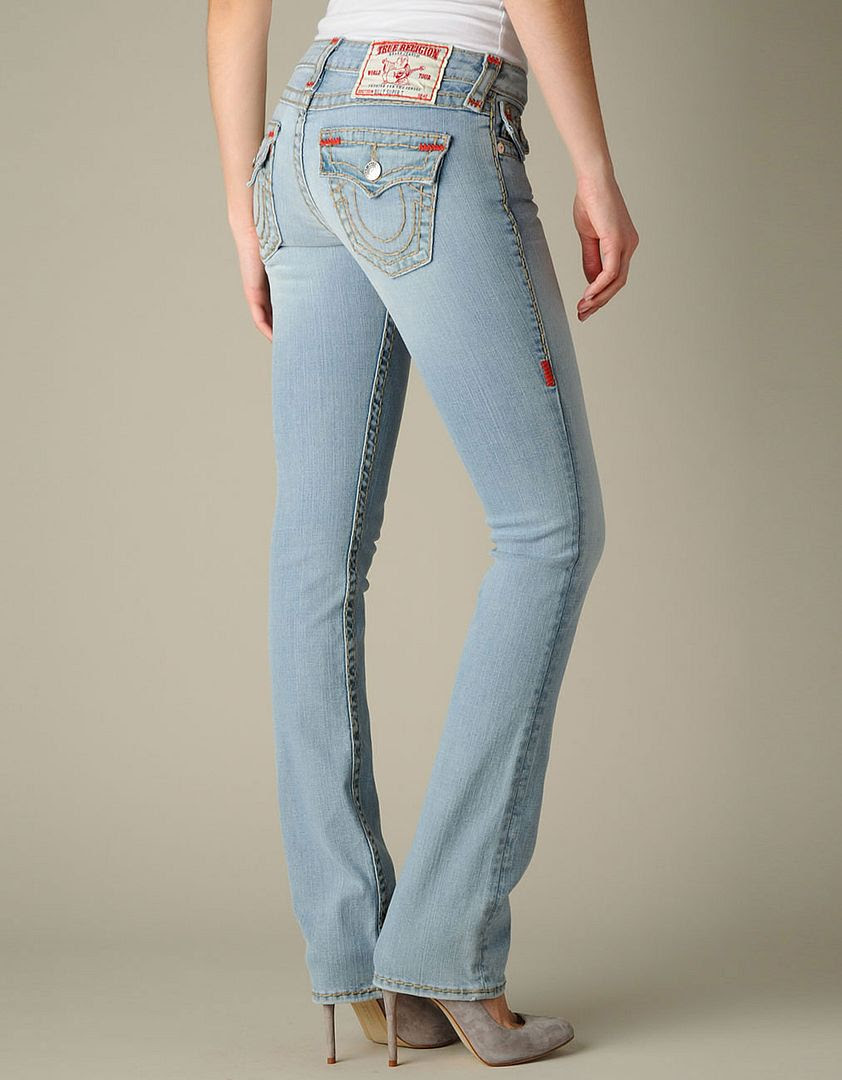 True Religion Super T Billy Jeans