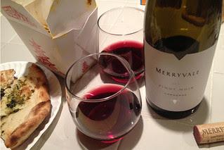 Merryvale Pinot Noir 2011 Carneros -  Pairing Biryani