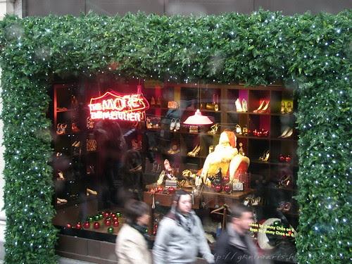 Selfridges Christmas window
