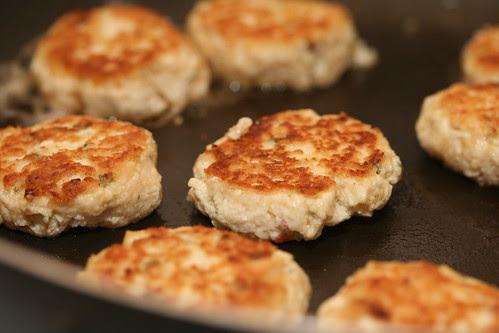 Tofu Burgers with House Mushroom Tofu Burger Patty Mix