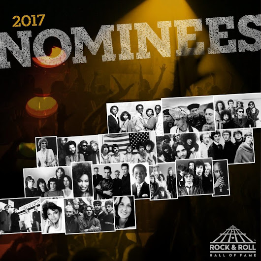 Rock and Roll Hall of Fame 2017, Pearl Jam e Depeche Mode tra i nominati