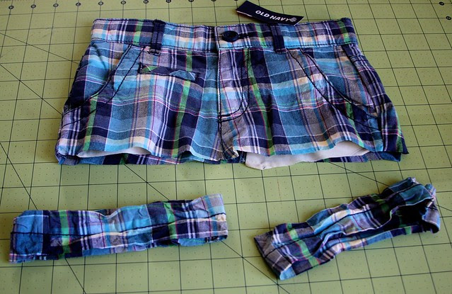 4t Shorts to 9 months Skirt-July 2012  6