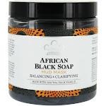 Nubian Heritage African Black Soap Facial Mud Mask Balancing & Clarifying 6 fl oz