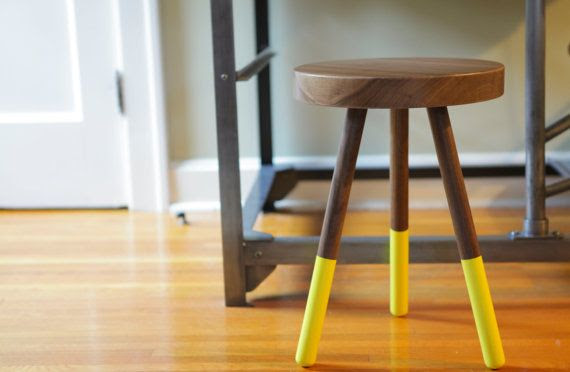 Hey, I found this really awesome Etsy listing at https://www.etsy.com/listing/166023512/dining-stool-black-walnut