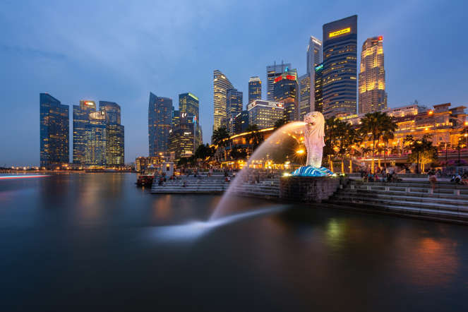 Singapore's strategic location along Southeast Asian trade routes has made it one of the wealthiest nations in the world and an enviable GDP per-capita level comparable to the most advanced economies in the world. Home to just under five million people, the tiny island has low level of internal conflict and a low military expenditure.