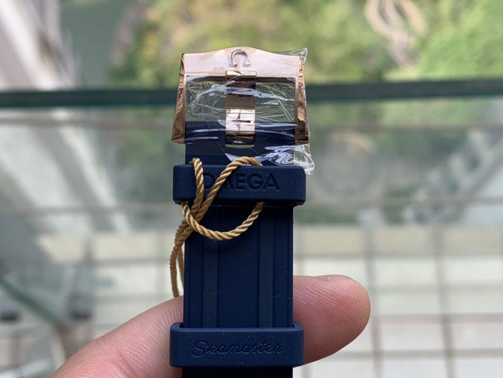Omega Seamaster Rose Gold Buckle