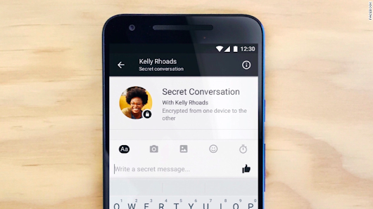 Facebook's 'Secret Conversations' mode deletes messages for extra security