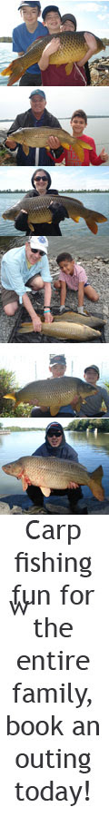 Carp fishing in Canada with Freshwater Phil