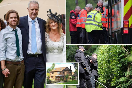 Manhunt launched after gunman broke into £1m home and shot man in his 60s dead