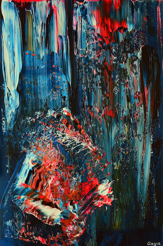 Niagara Reckless Run | Gaya | Contemporary Abstract Art
