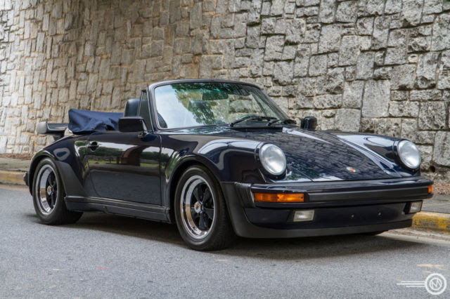 1988 Porsche 930 Turbo Cabriolet Classic Porsche 930 1988