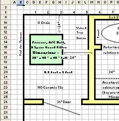 Ms Excel 2007 Tutorial Using Excel Worksheet As Gridpaper