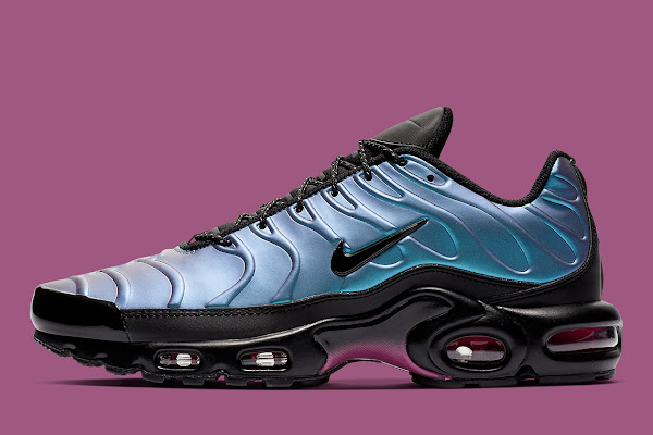 8e7fe5b95eb971 The Nike Air Max Plus Equips A Foamposite Shell-Like Upper