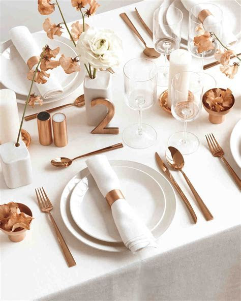 Copper and White Color Palette Ideas to Add Shine to Your