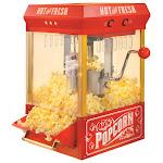 Nostalgia - 10-Cup Kettle Popcorn Popper - Red