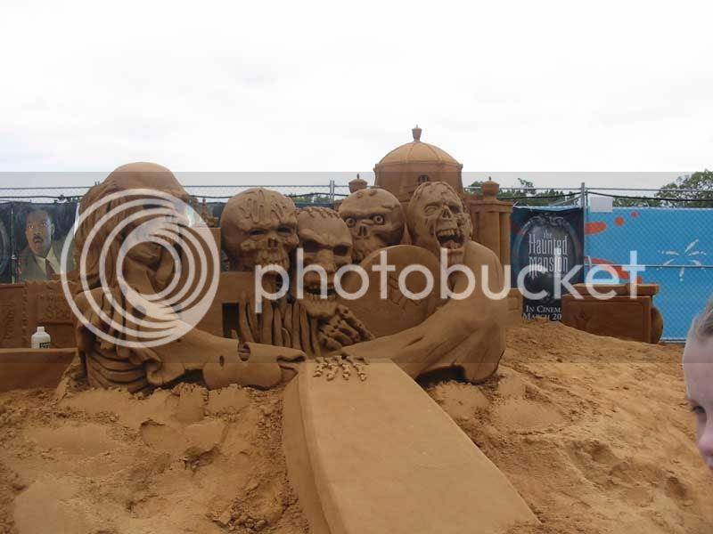 Sand Sculpture - 1