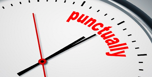Punctuality is About Energy, Too, Not Just Time