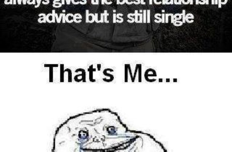 Giving Love Advice Though Being Single Funny Pictures Quotes