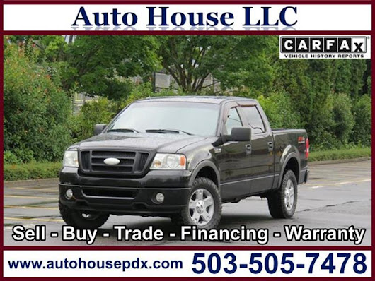 2008 Ford F-150 - Auto House LLC - Used Car Dealership - Portland OR