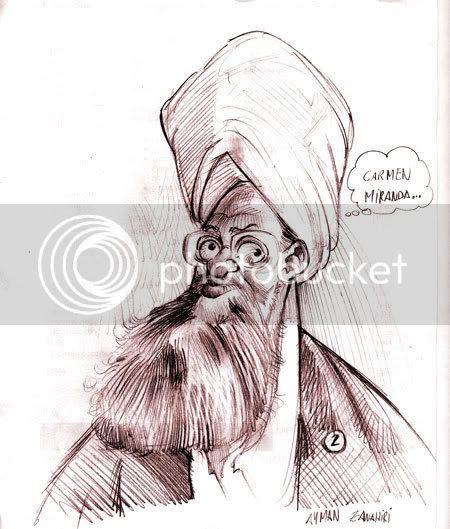 Al-Qaeda, Ayman al Zawahiri caricature
