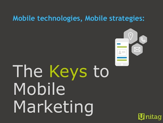 Mobile Technologies, Mobile Strategies - The Keys to Mobile Marketing